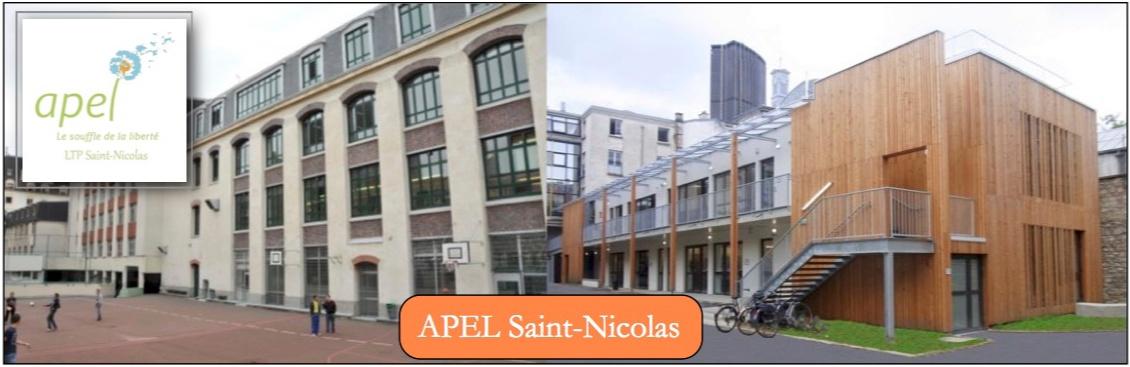 Le site de l'Association des Parents de l'Enseignement Libre du Lycée technique Privé Saint-Nicolas
